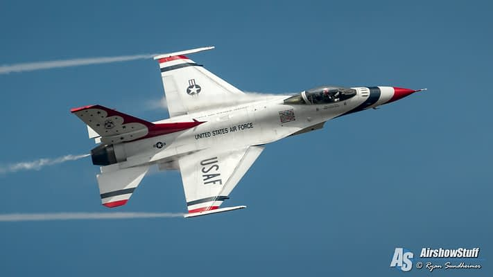 Thunderbird F-16 Crashes In Nevada; Pilot Killed