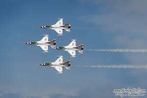 USAF Thunderbirds - EAA AirVenture Oshkosh 2014