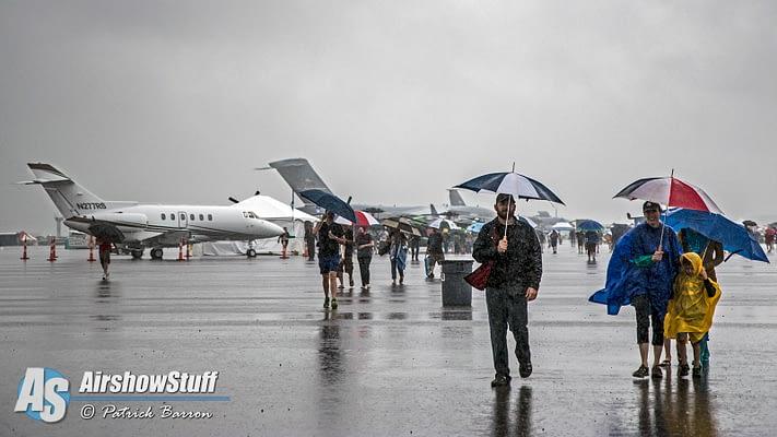 2015 Vectren Dayton Air Show Entertains Despite Rain