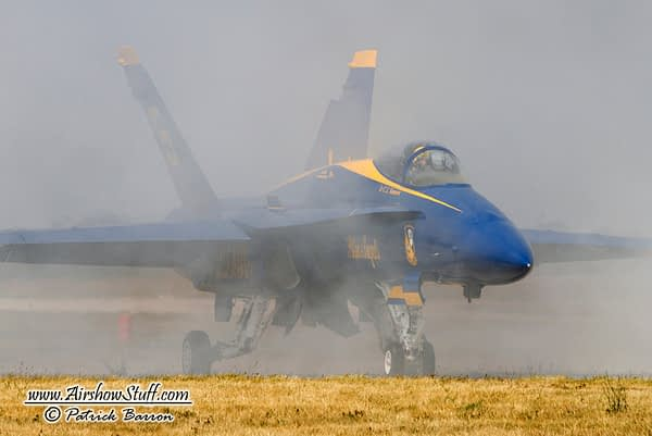Blue Angels Grounded Due to Smoke