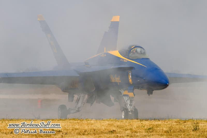 Canadian Wildfire Smoke Cancels Blue Angels Performance In Nebraska