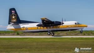 US Army Golden Knights - C-31 Troopship