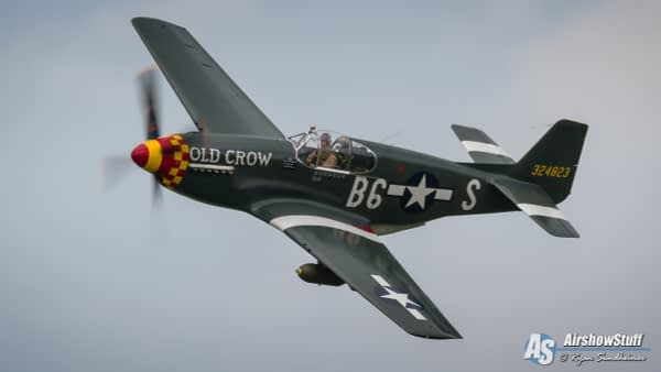 """P-51 Mustang """"Old Crow"""" - AirshowStuff"""