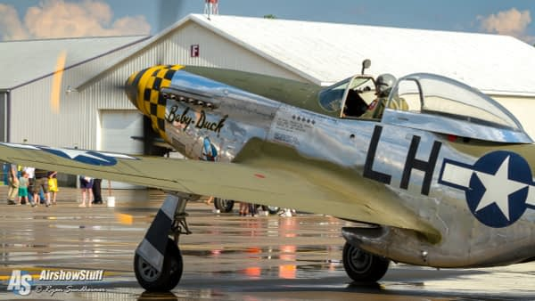 """Vlado Lenoch and the P-51 Mustang """"Baby Duck"""""""
