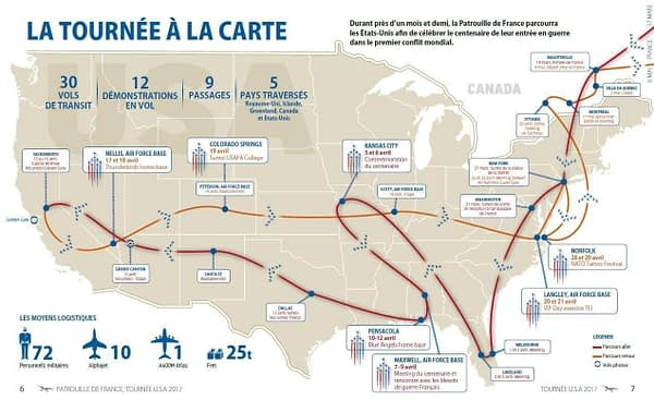 Patrouille de France 2017 North American Tour