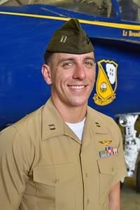 Marine Corps Capt. Rick Rose - US Navy Blue Angels