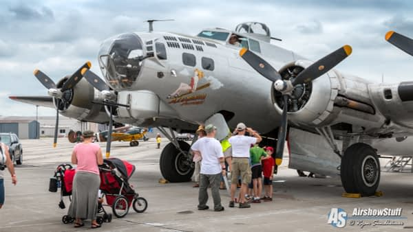 B-17 Flying Fortress - Heavy Bombers Weekend 2016