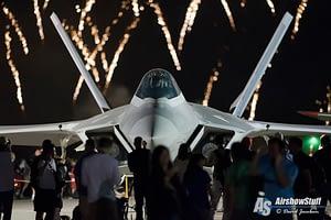 F-22 Raptor Fireworks