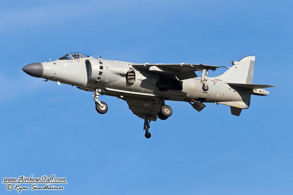 British Sea Harrier - Nalls Aviation