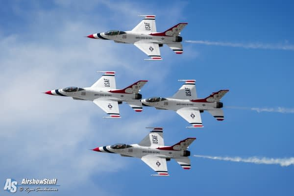 Thunderbirds Return To Flying, Airshows After Dayton Landing Incident