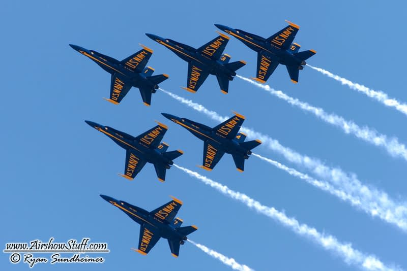 Blue Angels To Fly Delta Formation This Weekend In Cleveland; First Six-Ship Performance Since Crash