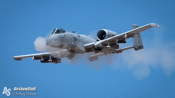A-10 Warthog Strafing Run - Hawgsmoke 2016 - Davis-Monthan AFB