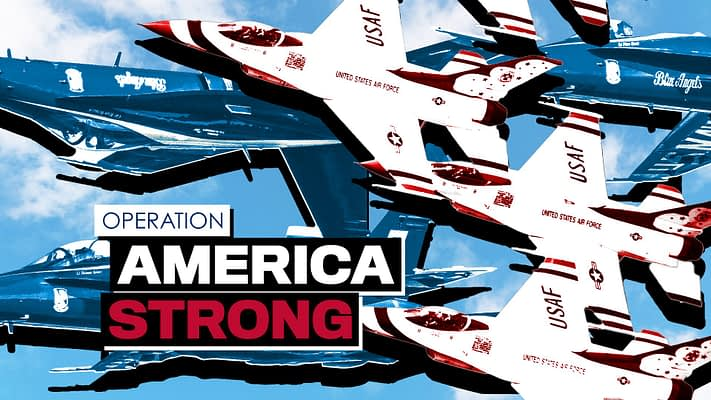 Operation America Strong: Blue Angel and Thunderbird Flyovers Confirmed By Pentagon and White House