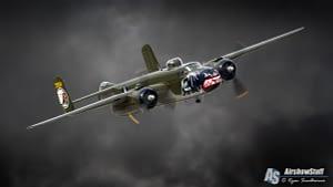 B-25 Mitchell Bombing Run