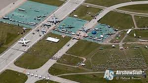 Vectren Dayton Airshow 2015 From Above