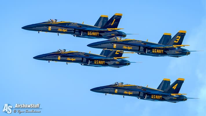 US Navy Blue Angels To Headline EAA AirVenture Oshkosh 2017 With Full Aerobatic Performances