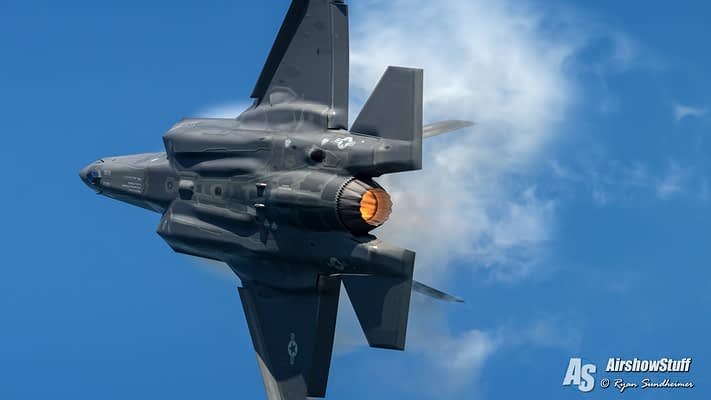 USAF F-35 Lightning II Demonstration Team 2021 Airshow Schedule Released