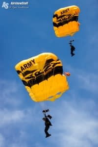 US Army Golden Knights - Vectren Dayton Air Show 2015