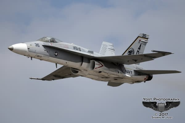 VFA-106 Unveils Special VFA-15 Paint Scheme For 2017 F/A-18C Hornet Demonstrations