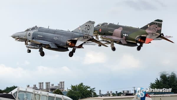 USAF F-4 Phantom Departure