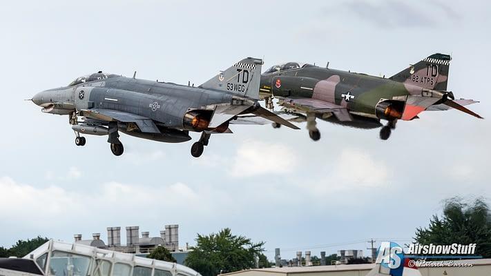Just FIVE Public Appearances Remain For USAF F-4 Phantoms, Including Final Flight Event In December
