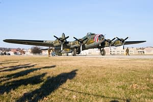 """B-17 Flying Fortress """"Memphis Belle"""" - National Museum of the United States Air Force"""