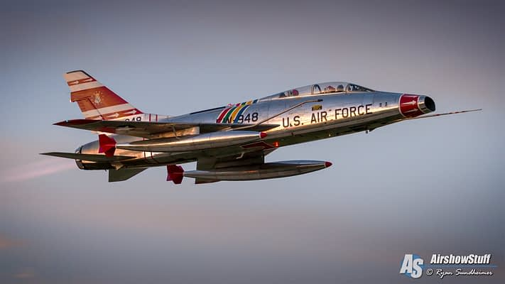 F-100 Super Sabre Added To 2016 Thunder Over Michigan Lineup