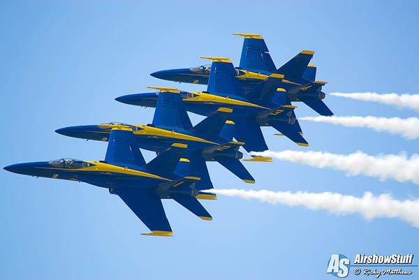 US Navy Blue Angels Release Practice Schedule for 2018