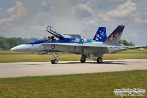 CF-18 Hornet Demonstration Team 2014