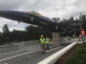 Kuss Memorial F-18 Hornet - Smyrna, TN