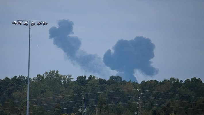 Snowbird Pilot Safe After Jet Crashes Near Atlanta Air Show