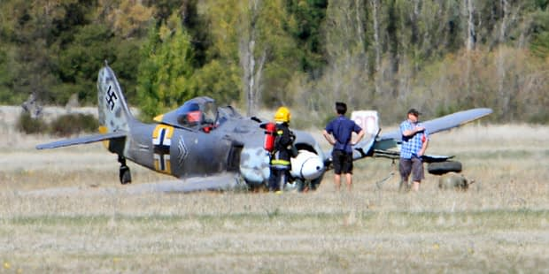 FW-190 Suffers Landing Mishap in New Zealand – No Injuries Reported