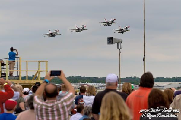 US Air Force Thunderbirds - Rockford AirFest