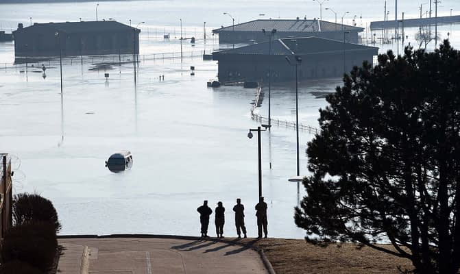 Offutt AFB Cancels 2019 Airshow After Devastating Flooding