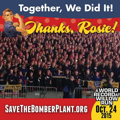Yankee Air Museum Reclaims Rosie The Riveter World Record