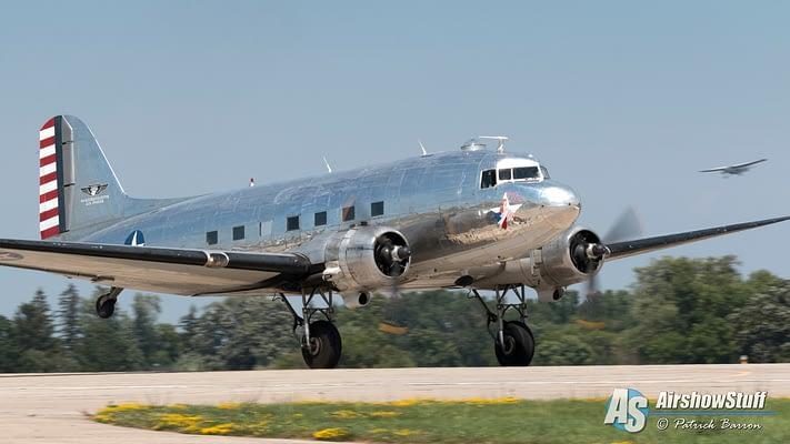 "Douglas C-47 ""Bluebonnet Belle"" Crashes On Takeoff"