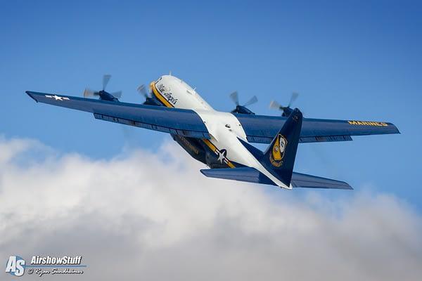 US Navy Blue Angels - C-130 Hercules Fat Albert
