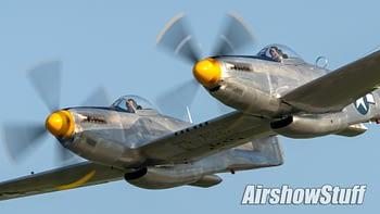 XP-82 Twin Mustang - AirshowStuff
